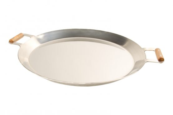 GrillSymbol Paella Frying Pan PRO-580 inox