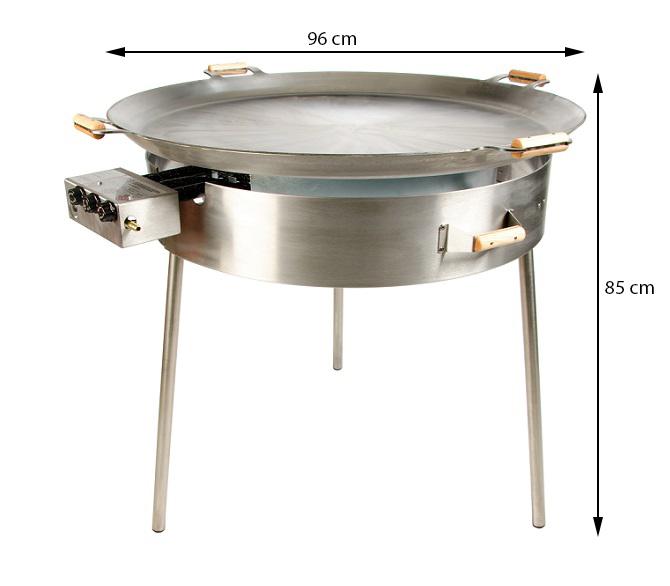 GrillSymbol комплект со стальной сковородой Paella PRO-960