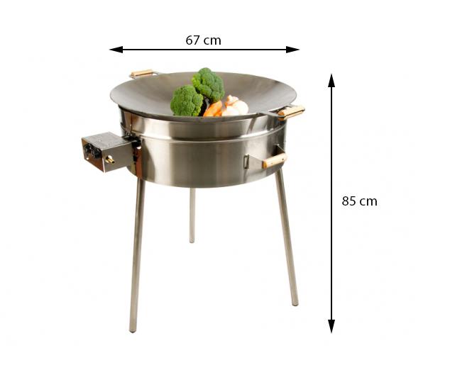 GrillSymbol wokikomplekt PRO-675