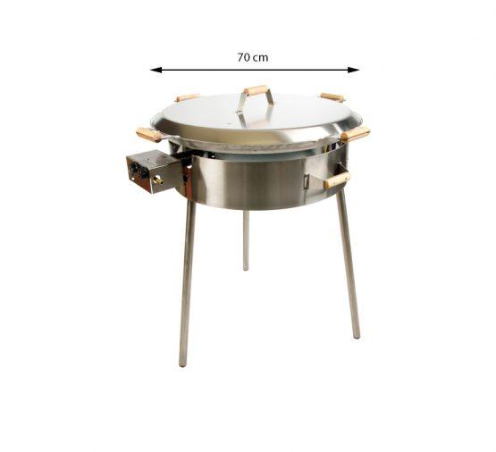GrillSymbol Lid for 72 cm Paella Pan