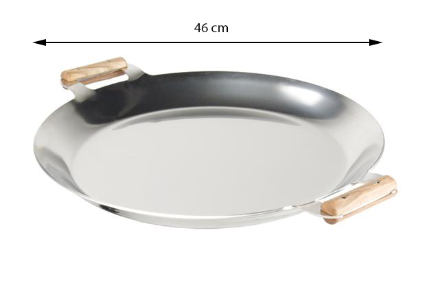 GrillSymbol Сковорода PRO 460 inox