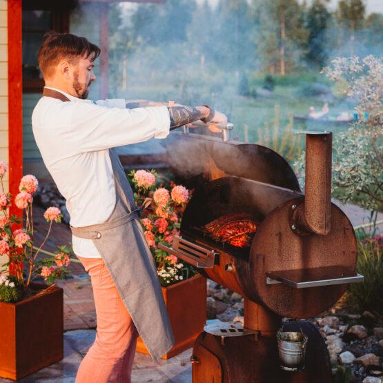 GrillSymbol BBQ-suitsuahi Smoky Beast