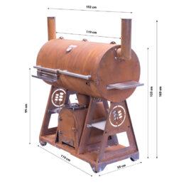 GrillSymbol Печь BBQ Smoky-Beast-XL