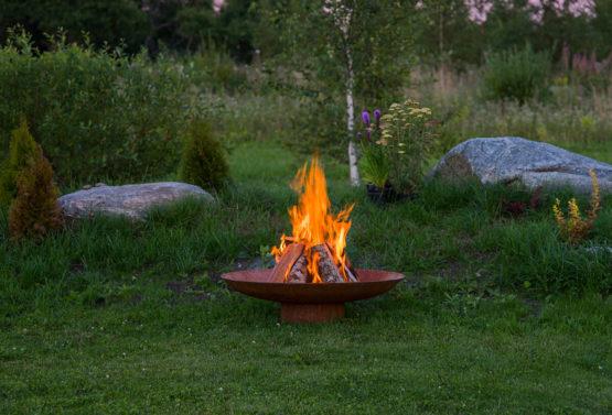 GrillSymbol Chiaro XL Outdoor Wood Burning Fireplace