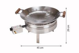 GrillSymbol Paella Wok Set PRO-450