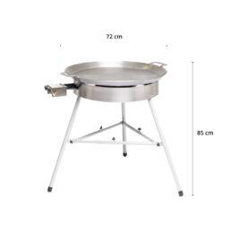 GrillSymbol Paella Frying Pan Set Basic-720