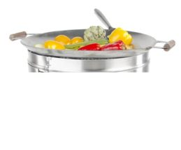 GrillSymbol Wok-Solution 450 inox
