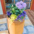 GrillSymbol Cor-Ten Steel Flower Pot Meri
