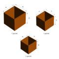 GrillSymbol Cor-Ten terasest lillepott Fiora 3-komplekt