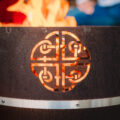 GrillSymboll Наружный камин из Cor-Ten Lucas-Mini